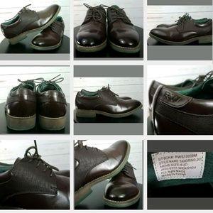 Robert Wayne RW Brown Oxford Shoes 8.5